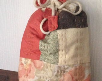 Handmade Toilettries Bag or Padded Mug Bag.