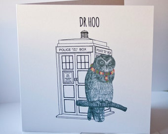 Dr Hoo card