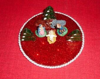 Resin Nativity Set