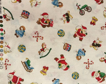 Under the Christmas Tree collection Lecien fabric FQ or more