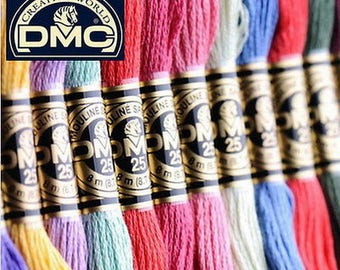 516 colors of DMC cotton floss,Art.117,NO.25 DMC cotton thread,you can choose any colors and any quantity