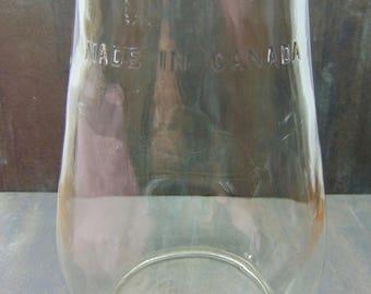 Vintage  Glass  Lantern  Globe