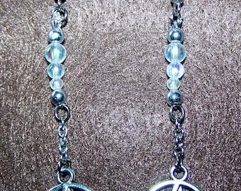 Dangling Pentacle Earrings