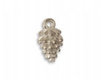 Vintaj 16x7mm Full Pine Cone (1 pc) - Artisan Pewter