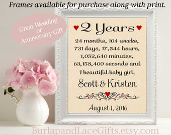 2nd cotton anniversary gift for Wife Anniversary gift for Husband Cotton gift for Anniversary gift to Wife Gift to Husband  (ana207-2)