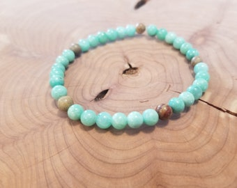 Sand and Sea * Bead Bracelet