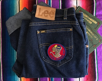 Vintage Mouse Patch BSA / 70s 1970s Seventies / Embroidered / Iron On Sew On / Boy Scouts of America / Deadstock / NOS / New Old Stock /