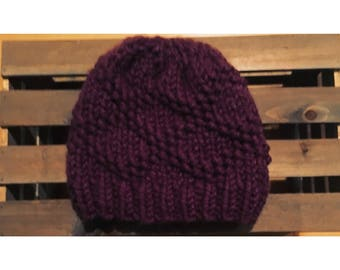 Bulky Etta Hat-Fig (Ready To Ship)