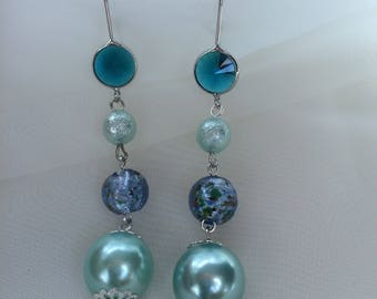 Earrings Ocean