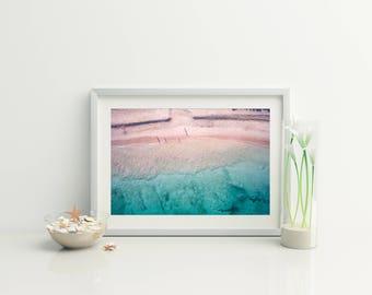 Beach Photo // Beach Print // Coastal wall print // Beach Photography // Ocean Photo // Bondi  // Ocean Photography