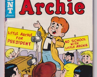 Little Archie; Vol 1, 16, Silver Age Comic Book. VG (4.0). September 1960. Archie Comic Publications