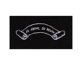 As Above So Below patch