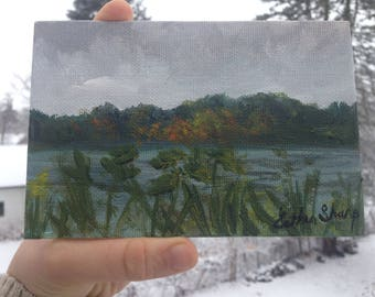 When You Love Something - original plein air painting