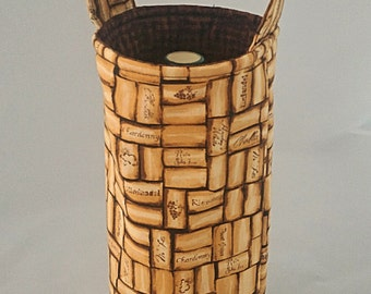 Reversible Insulated Wine Tote