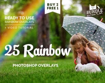 25 Rainbow Photo Overlays. Digital rainbow, Rainbow clipart, Rainbow clip art, Rainbow overlay, Rainbows png, Photoshop rainbow