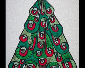 Oh Christmas Tree by Another by Anita - Applique Quilt Pattern