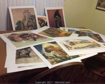Abel Pann signed Art Portfolio!