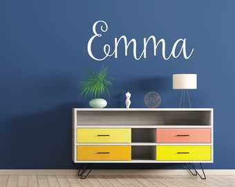 Personalized Name Wall Decal for Nursery - Custom Name Wall Decal - Nursery Name Decal - Nursery Wall Decal -WB108