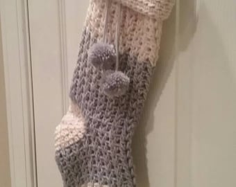 Crochet Christmas Stocking