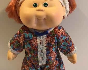 70s-80s cabbage patch doll, cabbage patch babies,doll, vintage doll, Red hair doll