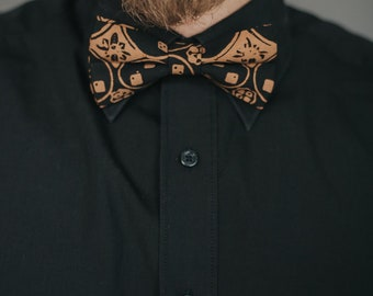 Fair Trade Bow-Tie Kawung