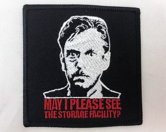 Storage Facility patch paranormal movie 80's horror comedy