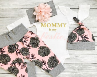 Baby Clothes, Baby Girl Clothes, Mommy and Me Outfits, Baby Clothes Girl, Baby Girl Clothes, Newborn Girl Outfit Winter, Mommy and Me
