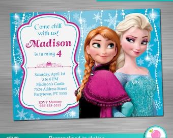 Frozen invitation frozen party frozen birthday winter frozen invitation print yourself frozen birthday frozen party frozen printable invitation diy stopboris Images