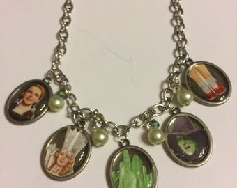Wizard of Oz Charm Necklace