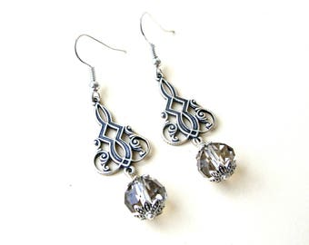 Victorian Style Earrings - Victorian Style Jewelry - Christmas Present for Mom