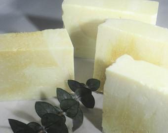 SOAP - Lemon Zest Mini Soap Bar - Lemon Soap - All Natural Soap - Organic Soap - Vegan Soap -  Detoxifying Soap - Handmade Soap