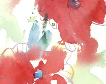 Fresh Pick No.294, limited edition of 50 fine art giclee prints from my original watercolor