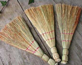Handmade Broom, Small Primitive broom , besom, witches broom