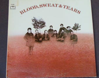 "Blood, Sweat & Tears - ""You've Made Me So Very Happy"" - Columbia Records Re-Issue 1969 - Jazz Rock - Vintage Gatefold Vinyl LP Record Album"