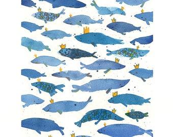 Crowned Fish