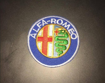 Alfa Romeo Iron on patch
