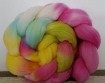 Wool Roving- Freckle Tutti Fruiti
