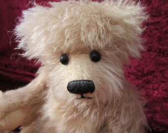 Mohair bear called Monty