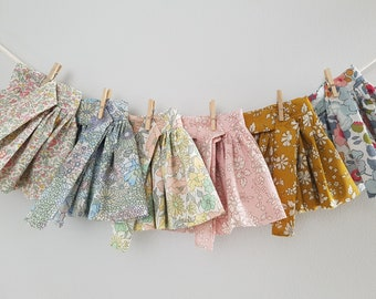 Handmade Doll Top Blouse / Doll Outfit / Dolls Clothes / Heirloom Toys