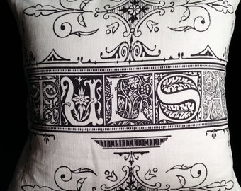 Victorian Style Tulsa Pillow Cover