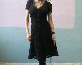 Vtg 90s Betsey Johnson Dress