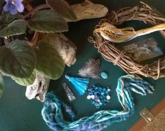 Dreamcatcher DIY kit-  hippie gypsy style with a bohemian flair