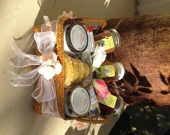 BEEHIVE Essentials ~ Gift Basket