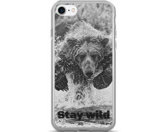 "iPhone 7/7 Plus Case ""Stay Wild"""