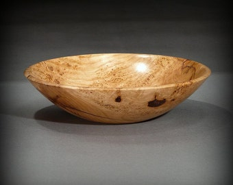 Wood Bowl, Black Cherry Burl (BW286)