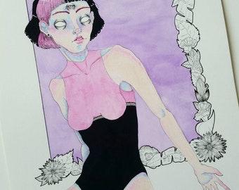 Original Illustration - Regan