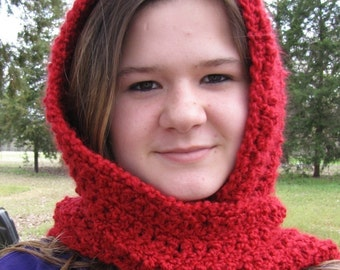 PDF Crochet Pattern- Quick and Easy Scoodie and Mini Scoodie (2 versions)
