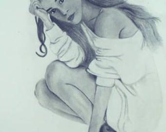 Poster förstoring Ariana Grande