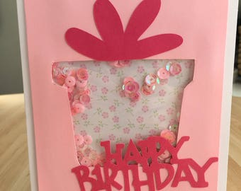 Pretty in Pink Interactive Birthday Card