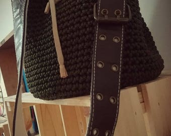Green bag with Belt